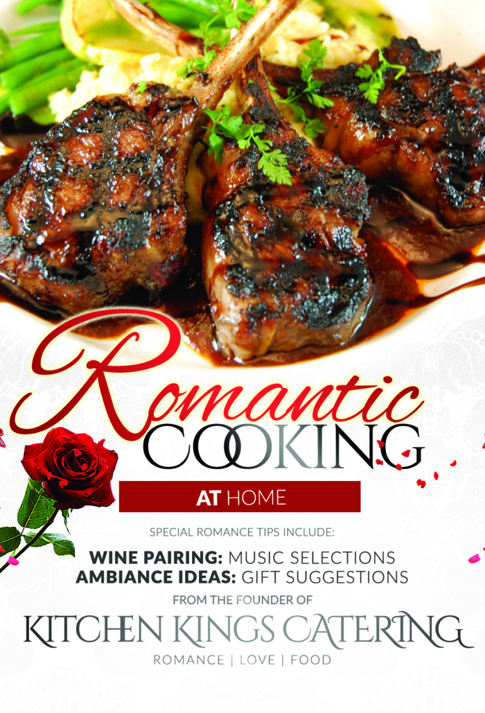 Romantic Cooking Book at home