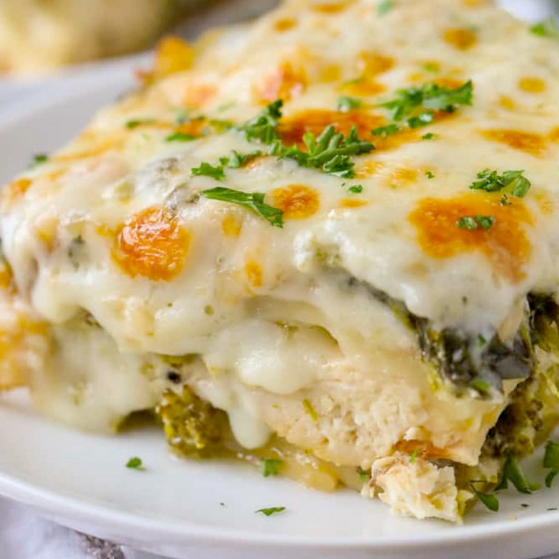 Spinach & Chicken Lasagna